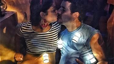 Sophie Charlotte e Daniel Oliveira desfilaram barrigão em festa. (Foto: Reprodução)