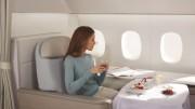 """Companhias   aéreas que têm a primeira classe são presenteadas com belos """"mimos"""". (Foto: Reprodução)"""