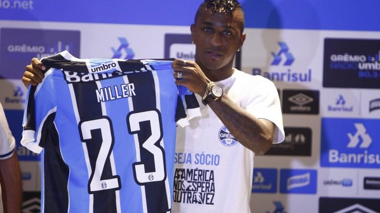 Atacante terá condições para atuar pelo Tricolor na Libertadores. (Foto: Lucas Uebel/Grêmio)