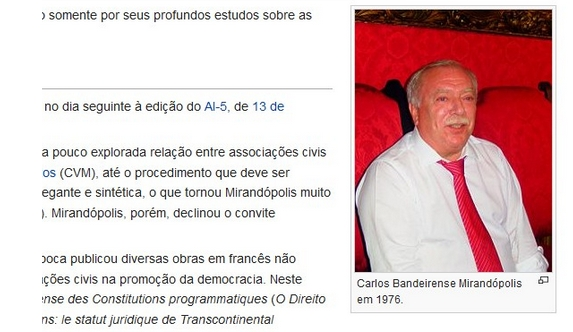1806159e095ad Perfil falso na Wikipédia é citado em decisão judicial e trabalho acadêmico