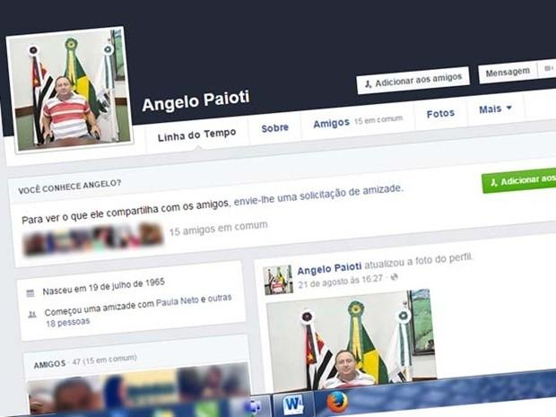 86fd2f385cb2f Funcionário público que criou um perfil falso do vice-prefeito no Facebook  foi preso