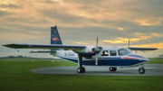 Voo mais rápido é operado pela Loganair, na Escócia. (Crédito: Reprodução)