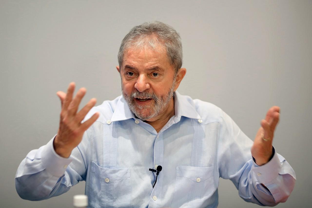 O ex-presidente Luiz Inácio Lula da Silva (PT), por sua vez, mantém-se na liderança apesar das menções no noticiário recente da Lava-Jato (Foto: Ricardo Stuckert/Instituto Lula)
