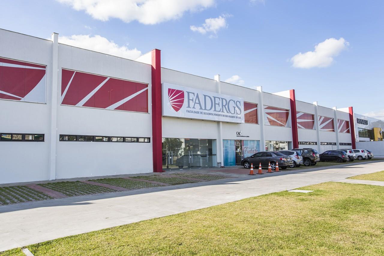 Fachada novo campus Zona Norte Fadergs