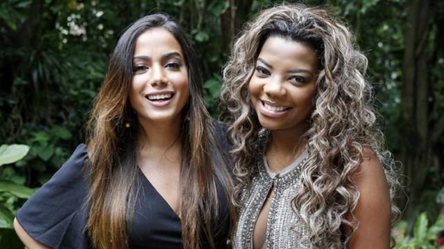 A briga entre as cantoras Anitta e Ludmilla acendeu o debate sobre a autoria de músicas