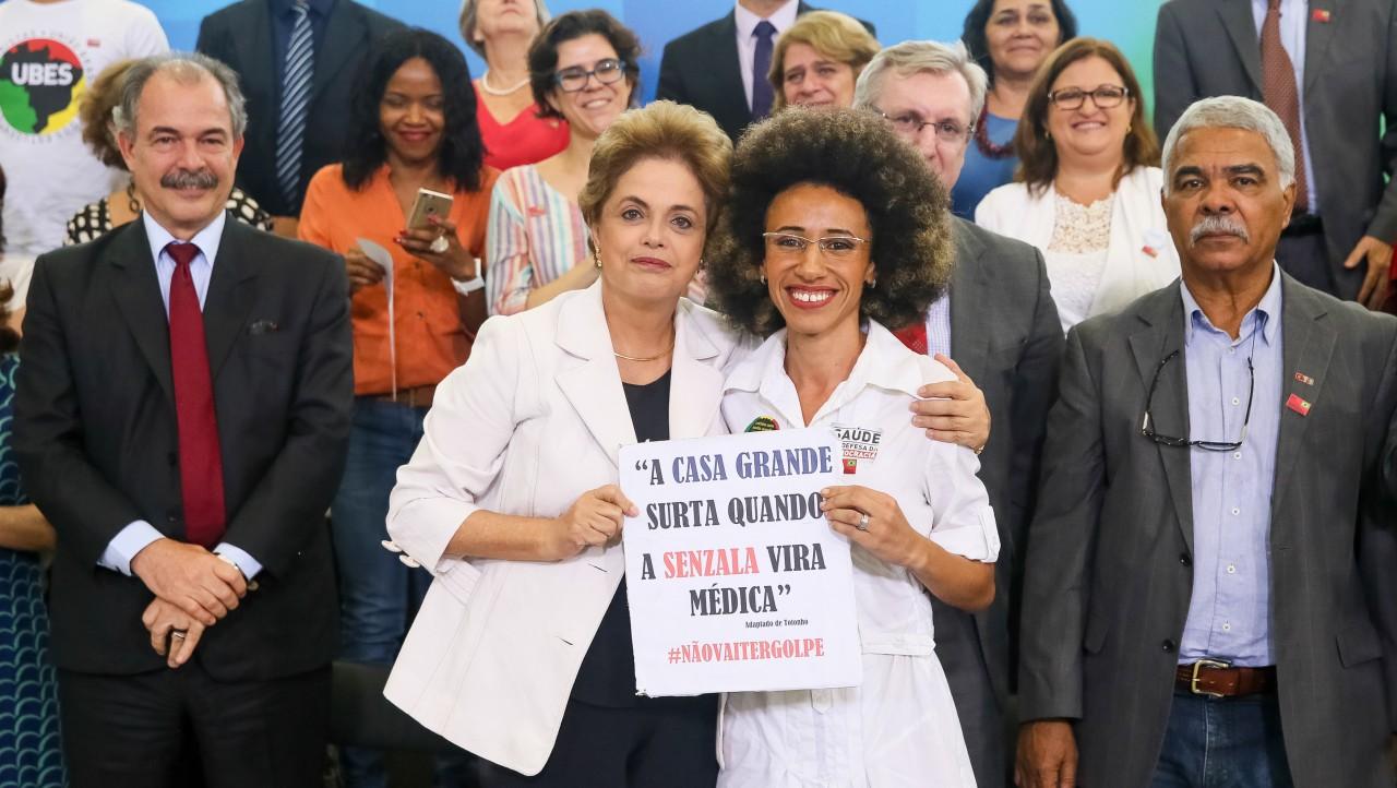 Dilma Rousseff e Suzane da Silva