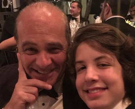 Marcelo de Carvalho e Lucas Jagger