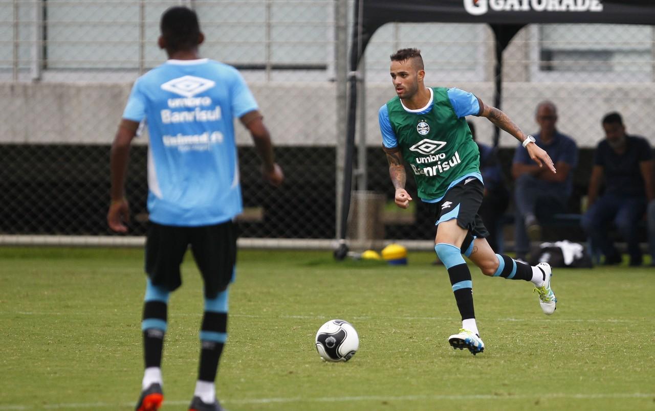 Luan é nome certo para a partida de volta das semifinais do Gauchão diante do Ju. (Foto: Lucas Uebel/Grêmio)