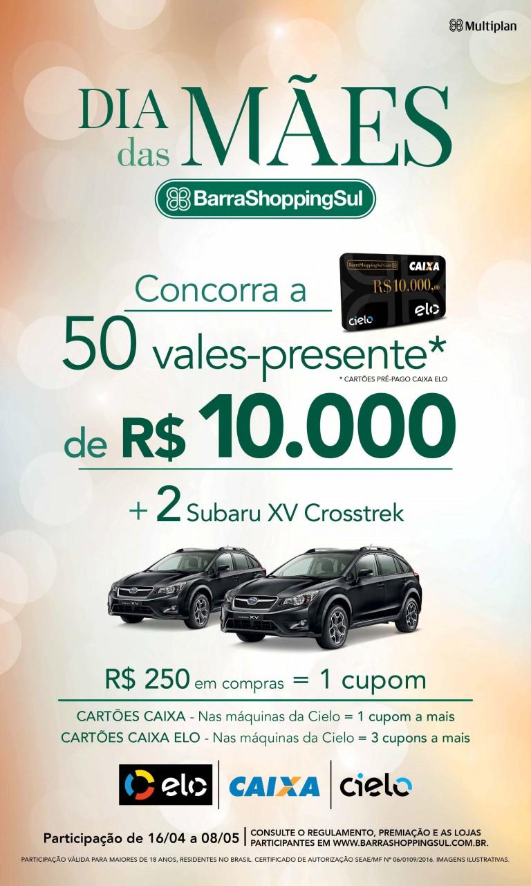 7d450694886 Promoção de Dia das Mães do BarraShoppingSul vai até domingo