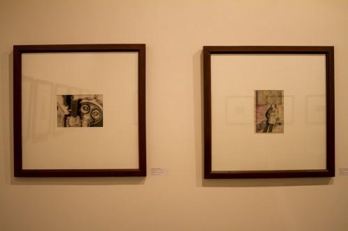 Duas obras da talentosa artista gaúcha. (Foto: Pedro Antonio Heinrich/especial)