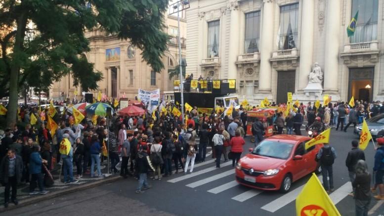 Professores Estaduais Protestam No Palcio Da Abolio | New Style for ...