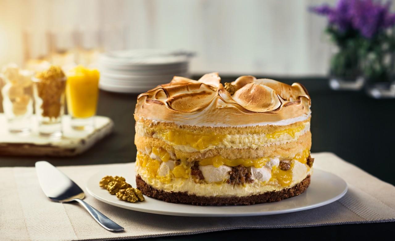 Versão naked cake da torta Martha Rocha, criada pela Bella Gula