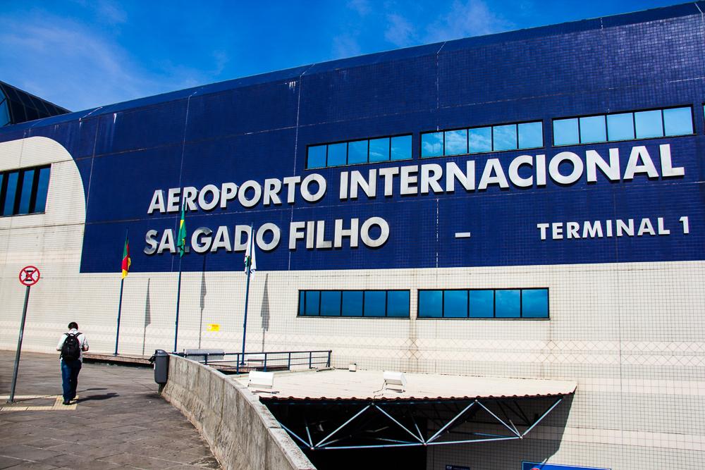 Operações no terminal não foram afetadas pela manifestação (Foto: Jackson Ciceri/O Sul)