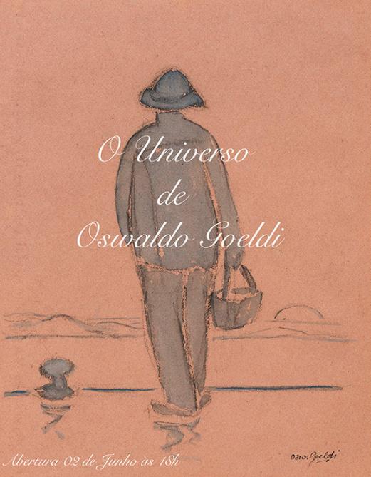 """Cartaz da exposição """"O Universo de Oswaldo Goeldi"""", que inaugura nesta quinta-feira em São Paulo. (Foto: divulgação)"""