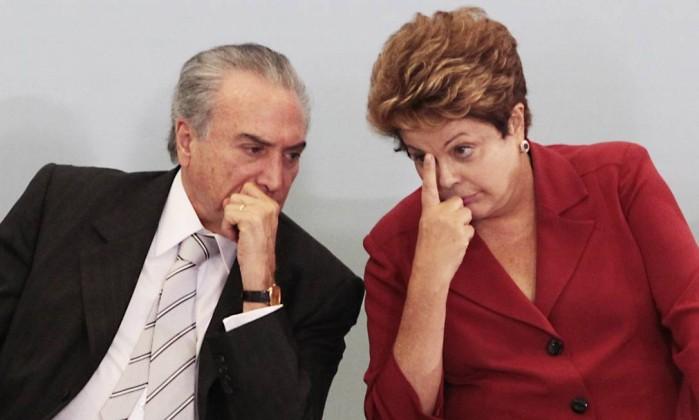 A ação sobre a chapa Dilma-Temer foi protocolada pelo PSDB logo após a eleição de 2014 (Foto: ABr)