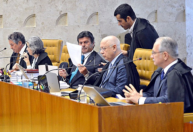 Ministros do Supremo Tribunal Federal (Foto: ABr)