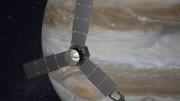 Imagens de Júpiter foram capturadas enquanto a sonda se aproximava do gigante gasoso. (Crédito: Reprodução)
