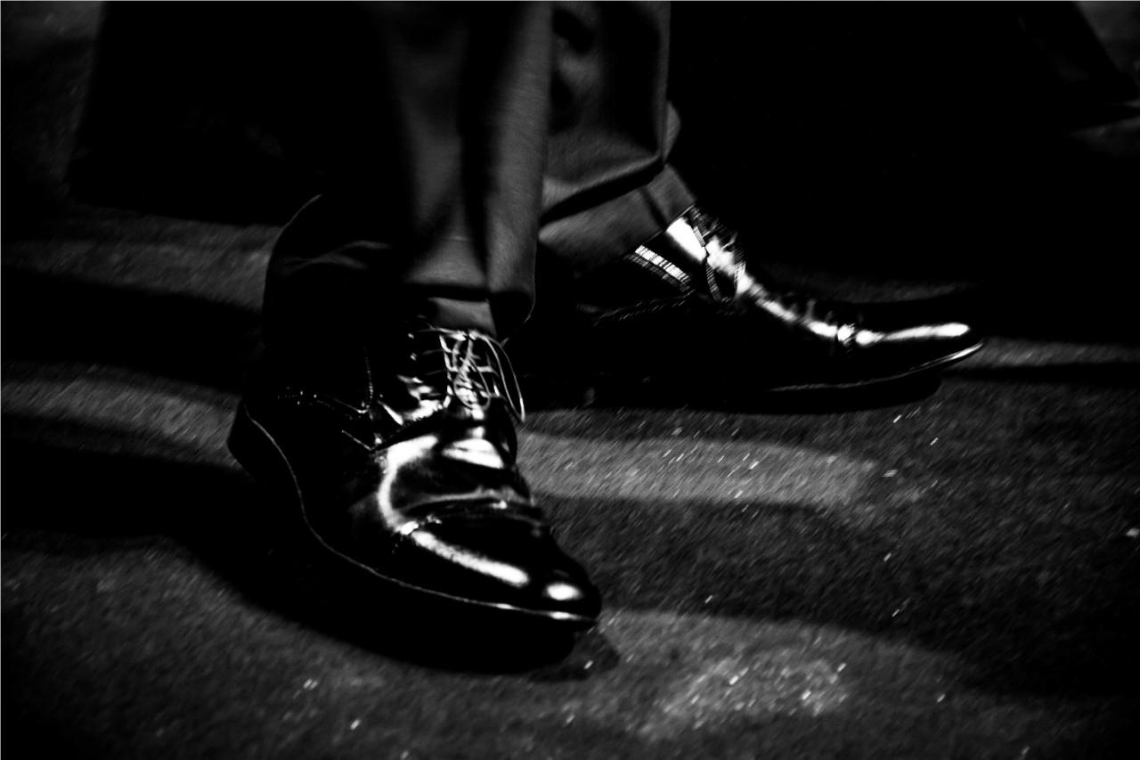 Escolha certa: os belos sapatos de Rodrigo Hilbert. (Foto: Pedro Antonio Heinrich/especial)