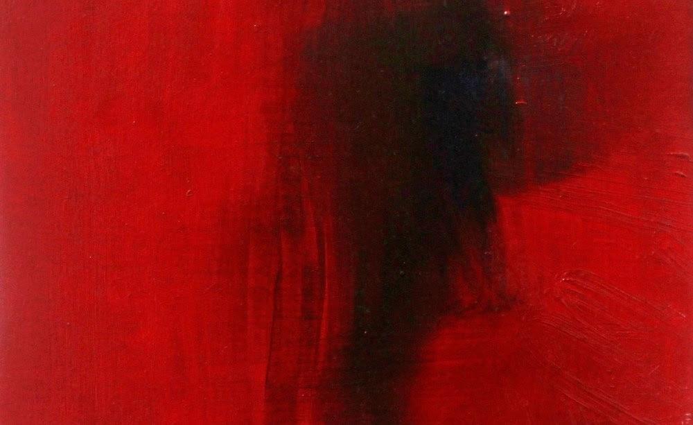 O vermelho marcante no quadro de Pablo Ferreti. (Foto: divulgação)