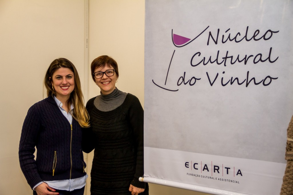 Ana Goulart e Victoria Mercio. (Foto: Pedro Antonio Heinrich/especial)