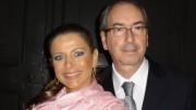 A jornalista Cláudia Cruz e o ex-presidente da Câmara, Eduardo Cunha  (foto:  Reprodução/Facebook)