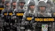 Integrantes da Força Nacional de Segurança. (Foto: Banco de Dados)