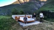 Null Stern Hotel oferece uma excelente vista dos Alpes suíços. (Foto: Reprodução)