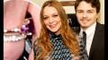 No começo de abril, Lindsay e Tarabasov resolveram oficializar a união após cinco meses de namoro (foto: reprodução)