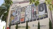 Cerca de 300 quilômetros separam Cuba do bairro de Little Havana, em Miami (EUA). (Foto: Reprodução)
