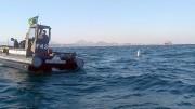 Corpo de Bombeiros faz busca de caça da Marinha que caiu no mar em Saquarema (RJ) Marinha faz busca de caça que caiu no mar em Saquarema (foto: Divulgação)