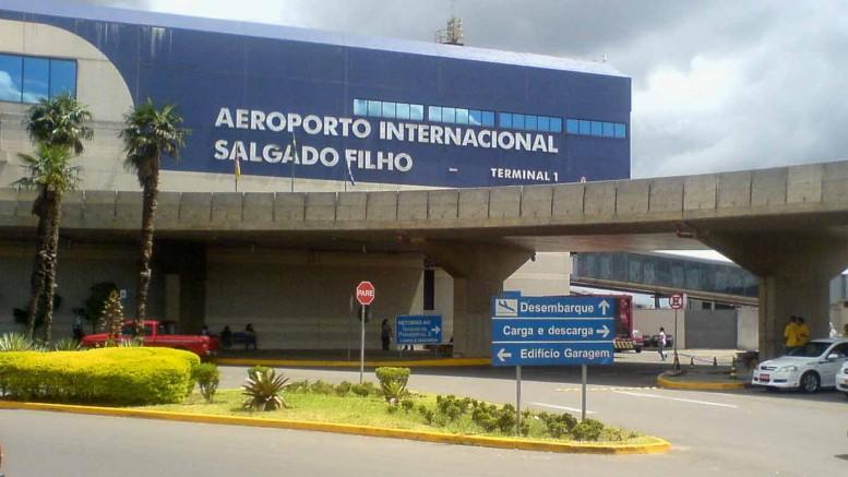 Salgado Filho e outros três aeroportos foram leiloados nesta manhã (Foto: Jackson Ciceri/O Sul)
