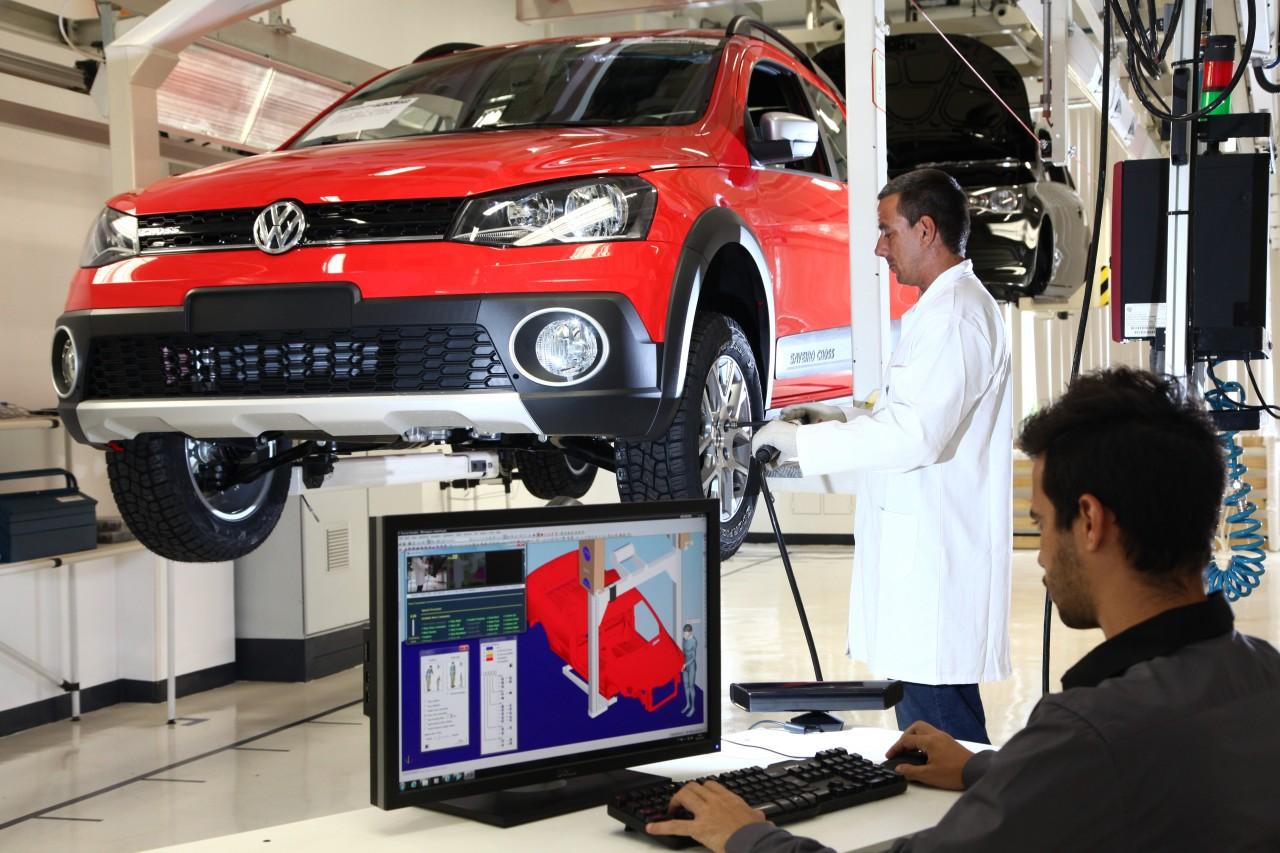 Fábrica da Volkswagen no Brasil