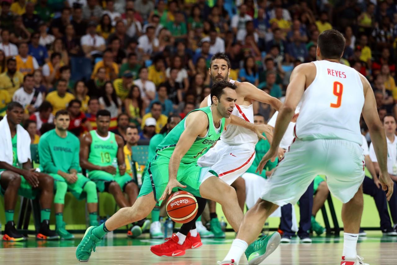 Brasil venceu Espanha por um ponto no último segundo  (foto: Alaor Filho/Exemlplus/COB)