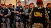 Força Nacional de Segurança em Porto Alegre. (Foto: Daniela Barcellos/Palácio Piratini)