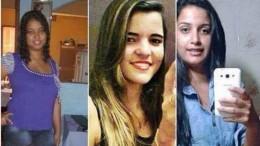 Michele, Lidiana e Thayane  estavam desaparecidas desde janeiro. (Crédito: Reprodução)