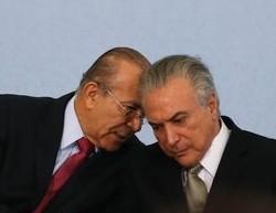 Temer (D) e o chefe da Casa Civil, Eliseu Padilha  (Foto: Agência Brasil/Divulgação)