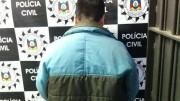 Homem de 45 anos foi preso no bairro Lomba do Pinheiro (foto: Polícia Civil/divulgação)