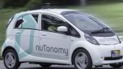 Veículos da empresa nuTonomy já estão circulando pelas ruas de Singapura. (Crédito: Reprodução)