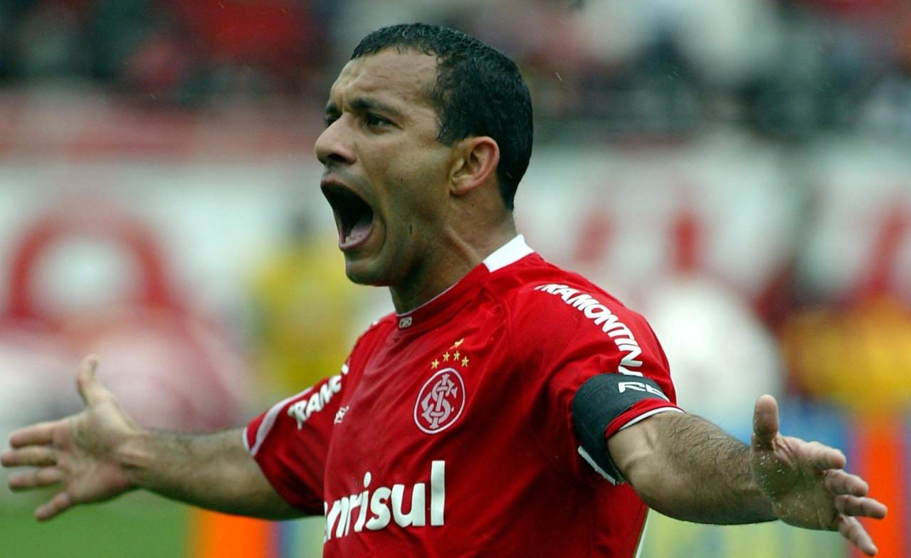 12cebaba1a Uma tarde no Beira-Rio com os ídolos do Inter da Libertadores de 2006