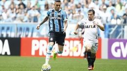 Luan marcou o gol gremista na Arena. (Foto: Lucas Uebel/Grêmio)