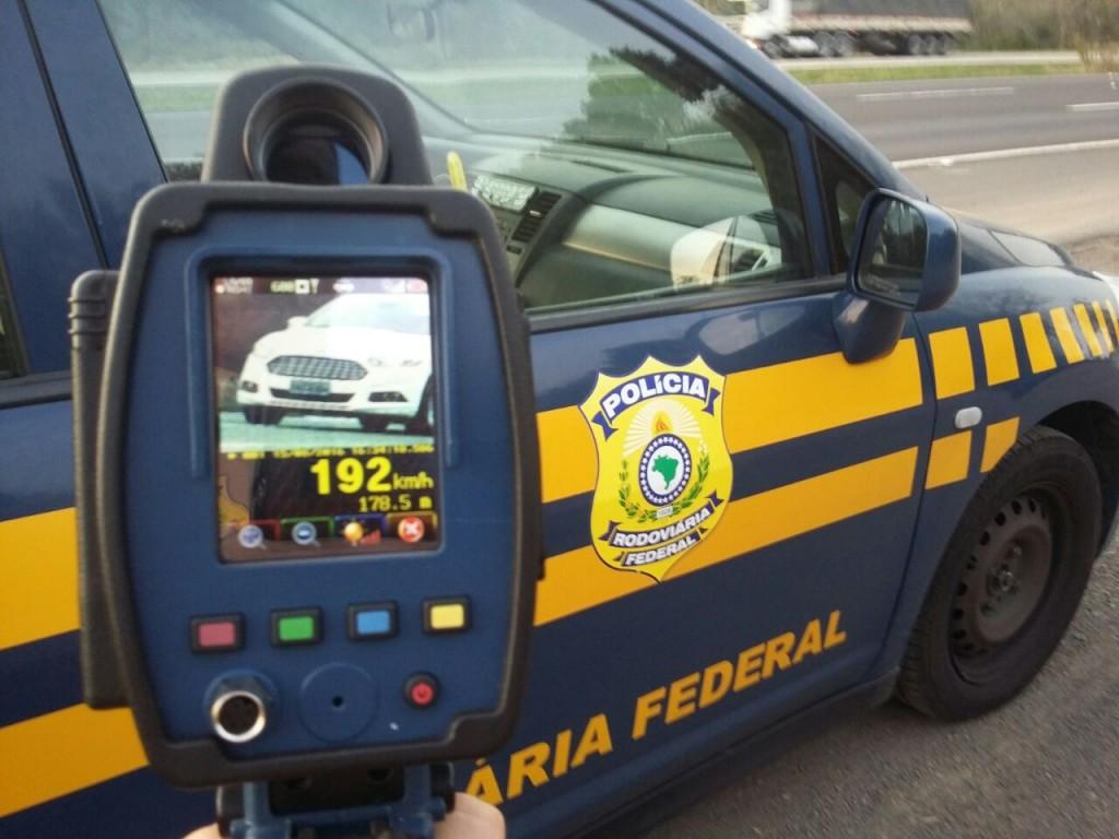 Maioria das multas foi por excesso de velocidade (Foto: PRF/Divulgação)