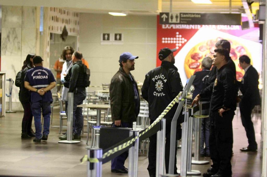 Jovem de 18 anos foi assassinado no aeroporto Salgado Filho. (Foto: Jackson Ciceri/ O Sul)