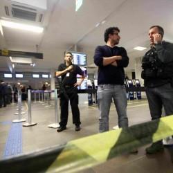 Assassinato no Aeroporto Salgado Filho. (Foto: Jackson Ciceri/O Sul)