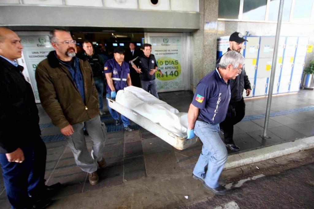 Crime ocorreu no terminal antigo do Salgado Filho. (Foto: Jackson Ciceri/O Sul)