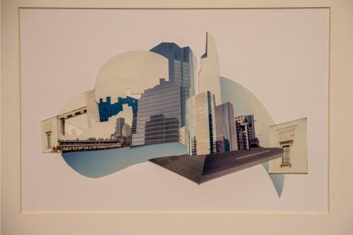 No detalhe: uma das obras da artista em exposição. (Foto: Pedro Antonio Heinrich/especial)