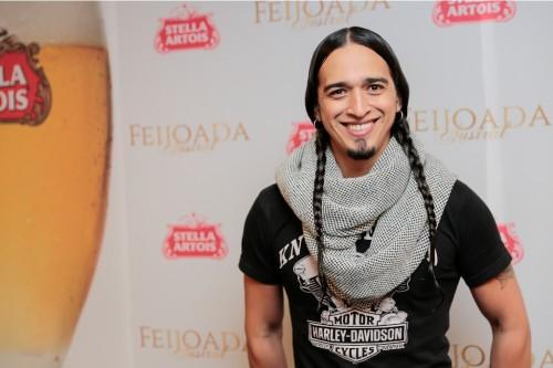Vini Netto esteve na ocasião para se apresentar ao lado do DJ Lê Araújo. (Foto: Vini Dalla Rosa/divulgação)