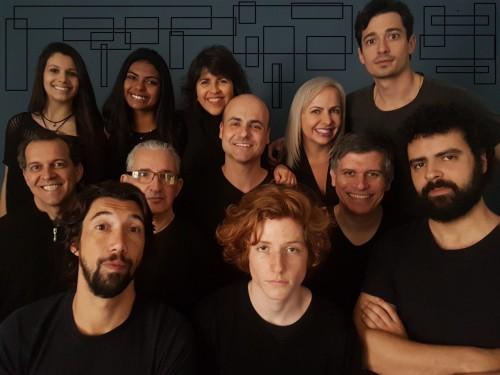 """O elenco da peça """"Cronicamente Verissimo"""". (Foto: Bob Bahlis/divulgação)"""