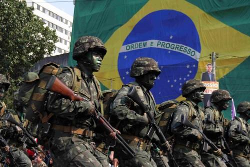 Desfile reunirá militares e blindados do Exército (Foto: Jackson Ciceri/O Sul)