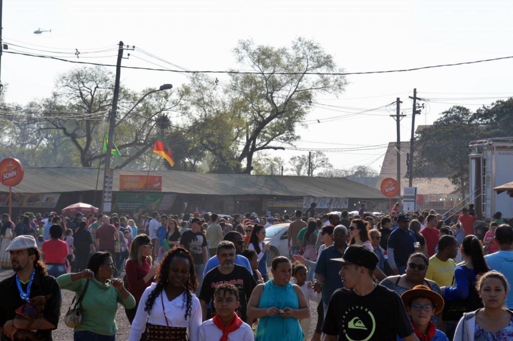 Público lota Parque Maurício Sirotsky Sobrinho - Estância da Harmonia  (Foto: Luciano Medina Martins/Divulgação PMPA)