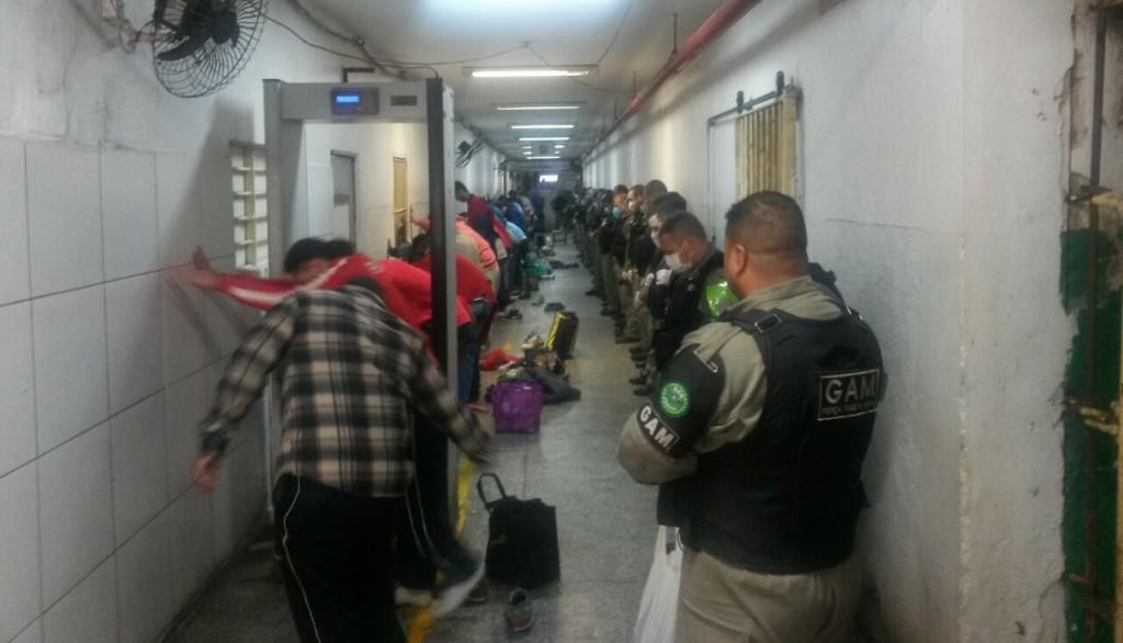 """A ação ocorreu no Pavilhão """"A"""", que possui uma população carcerária de 723 detentos. (Foto: Presídio Central/Divulgação)"""